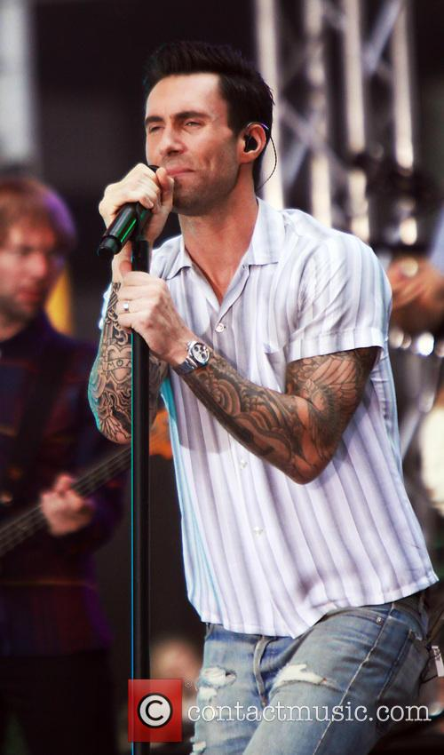 Adam Levine and Maroon 5 31