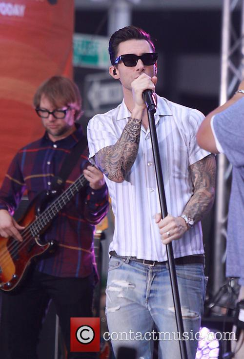 Adam Levine and Maroon 5 33