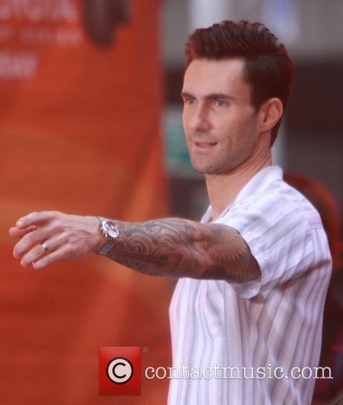 Adam Levine and Maroon 5 37