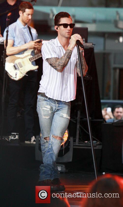 Adam Levine and Maroon 5 44