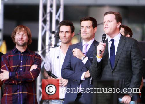 Maroon 5 perform on the 'Today' show