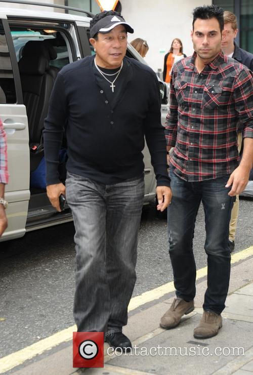 Smokey Robinson out in London