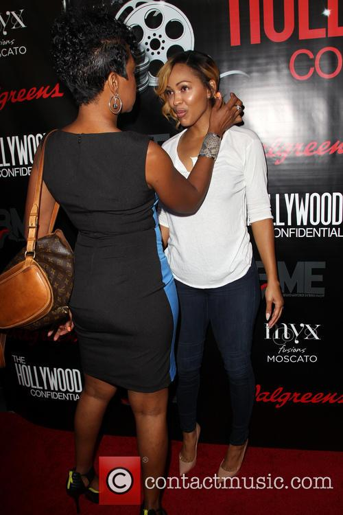 Meagan Good and Tichina Arnold