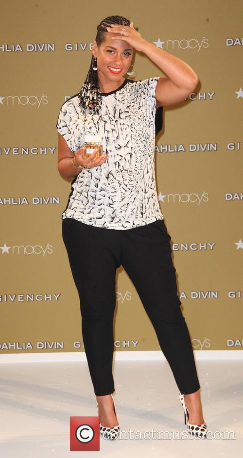 Alicia Keys is the face of 'Dahlia Divin,'...