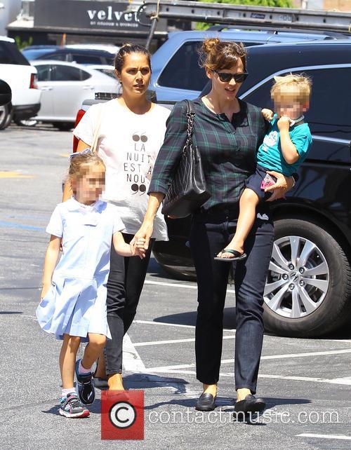 Jennifer Garner, Samuel Garner Affleck and Seraphina Rose Elizabeth Affleck 5