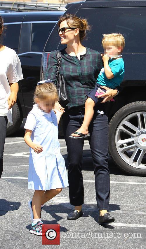 Jennifer Garner, Samuel Garner Affleck and Seraphina Rose Elizabeth Affleck 10
