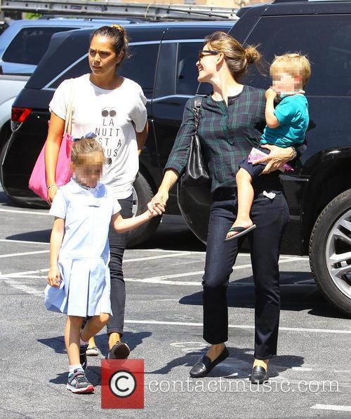 Jennifer Garner, Samuel Garner Affleck and Seraphina Rose Elizabeth Affleck 11
