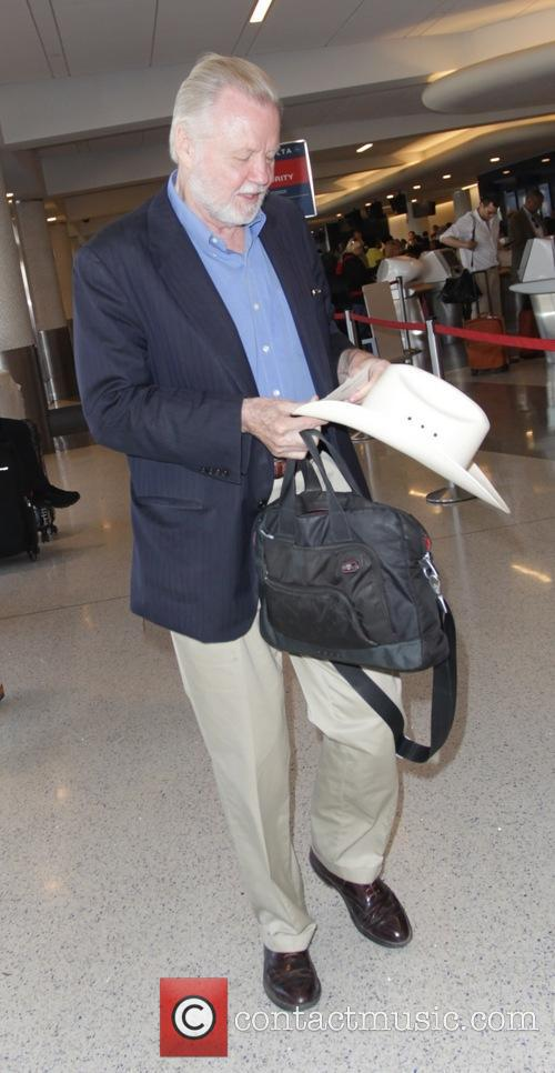 Jon Voight at Los Angeles International Airport (LAX)