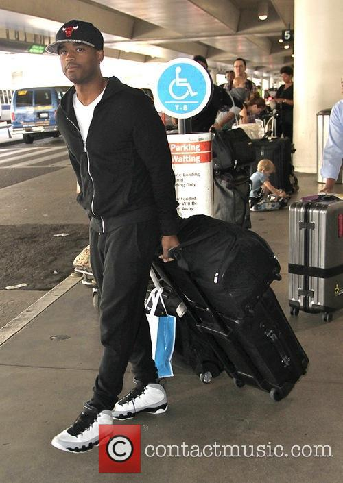 Larenz Tate at Los Angeles International Airport (LAX)