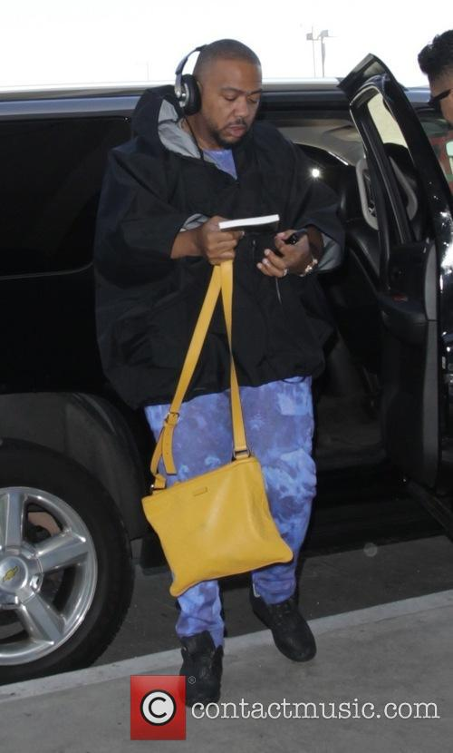 Timbaland at Los Angeles International Airport (LAX)