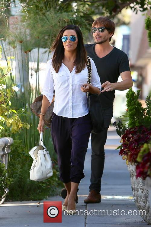 Eva Longoria and Ken Paves 3