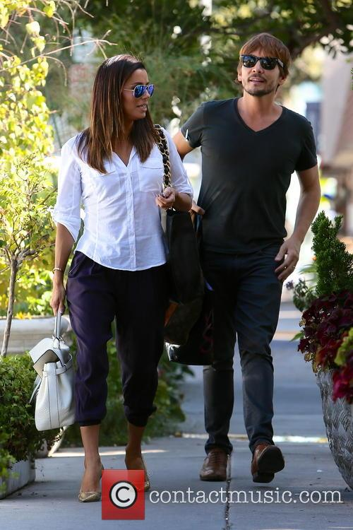 Eva Longoria and Ken Paves