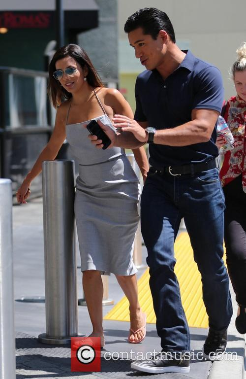 Eva Longoria and Mario Lopez 8