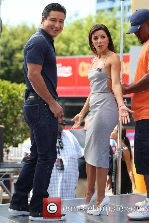 Eva Longoria and Mario Lopez 12