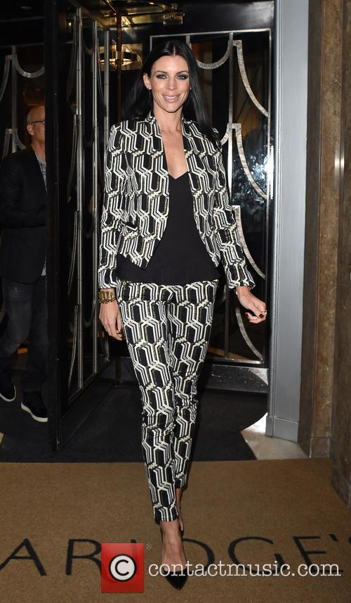 Liberty Ross leaving Claridge's hotel