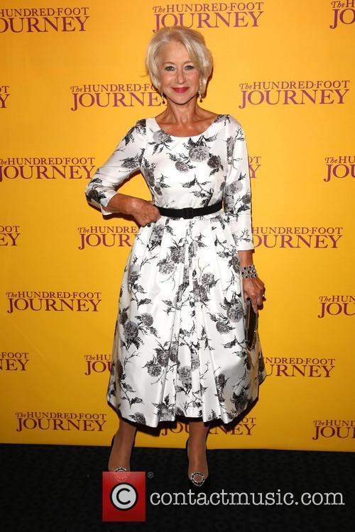 Helen Mirren at 'The Hundred-Foot Journey' screening