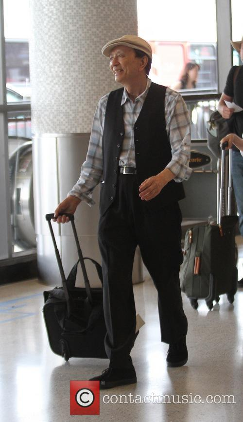 James Hong at Los Angeles International Airport