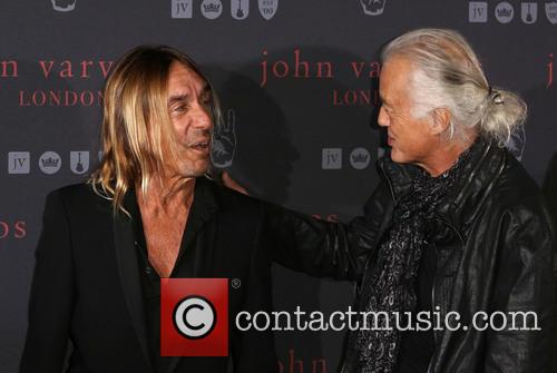 Iggy Pop and Jimmy Page 8
