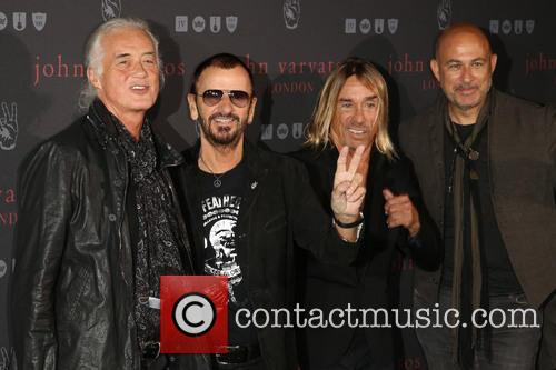 Iggy Pop, Jimmy Page, Ringo Star and John Varvatos 4