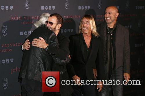 Iggy Pop, Jimmy Page, Ringo Star and John Varvatos