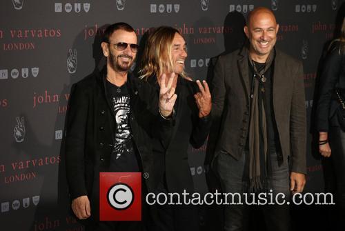 Iggy Pop, Ringo Star and John Varvatos 6