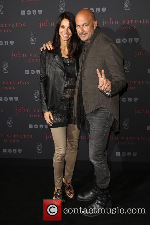 Joyce Varvatos and John Varvatos 10