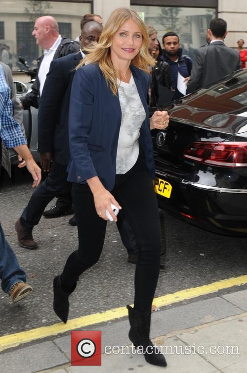 Cameron Diaz at BBC Radio 2