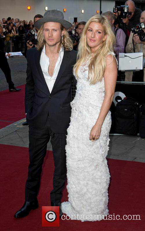 Ellie Goulding and Dougie Poynter 2