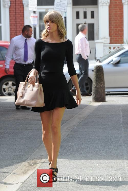 Taylor Swift seen out and about in London