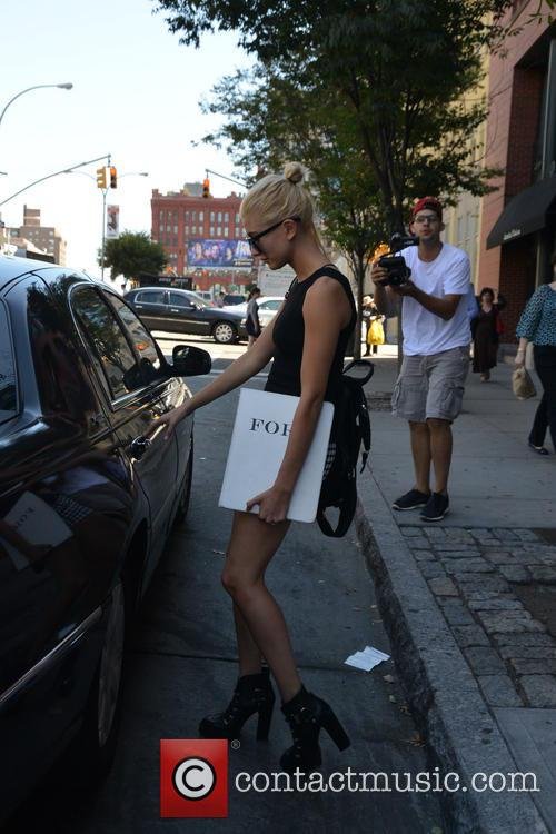 Hailey Baldwin out and about in New York...