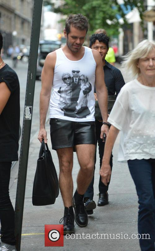 Perez Hilton out and about on Lower East...