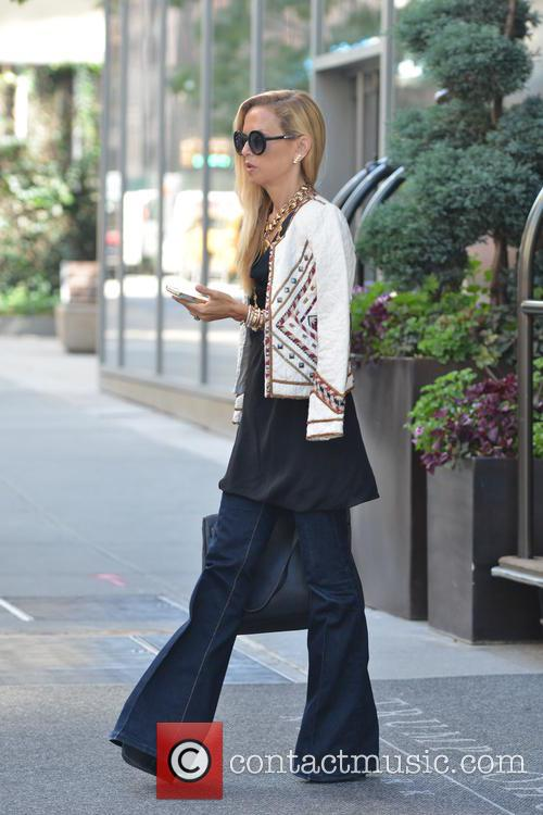 Rachel Zoe out and about in New York...
