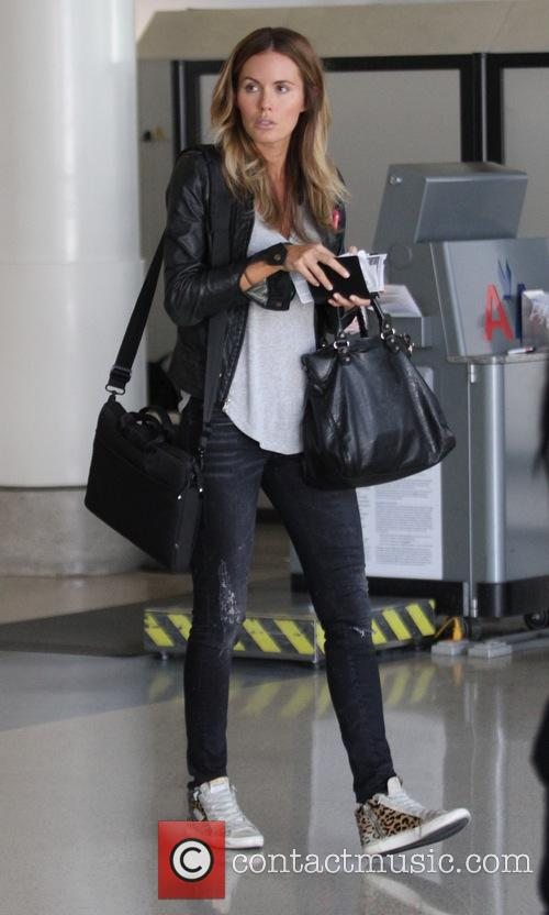 Amanda Huras at Los Angeles International (LAX) airport