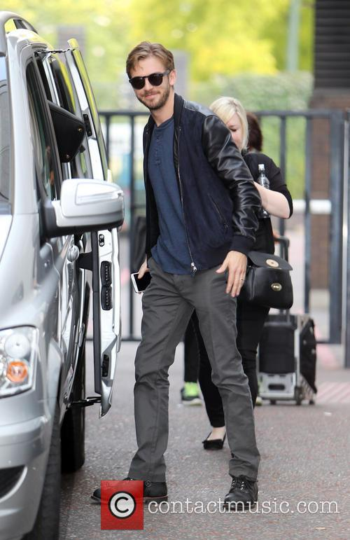 dan stevens celebrities at the itv studios 4352990