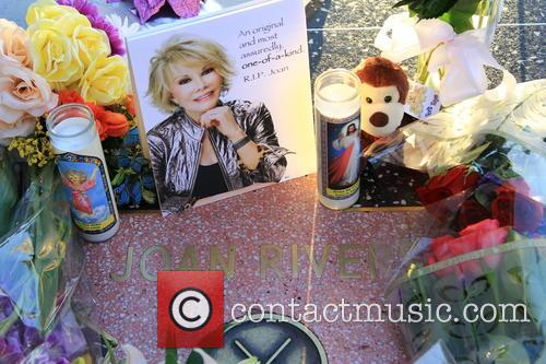 Joan Rivers Walk of Fame