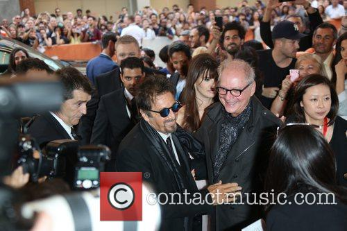Al Pacino and Barry Levinson