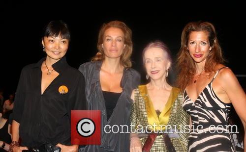 Irina Pantaeva, Frederique Van Der Wal, Beatrix Ost and Alysia Reiner
