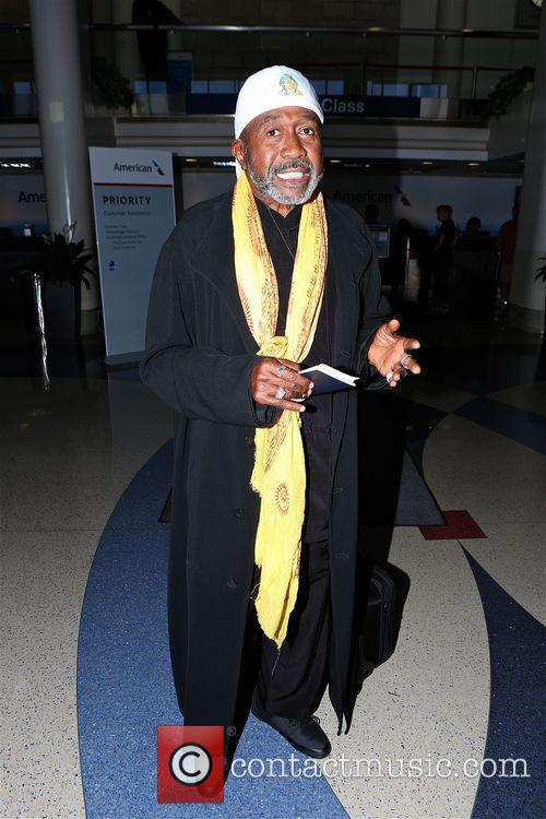 Ben Vereen arrives at Los Angeles International Airport...