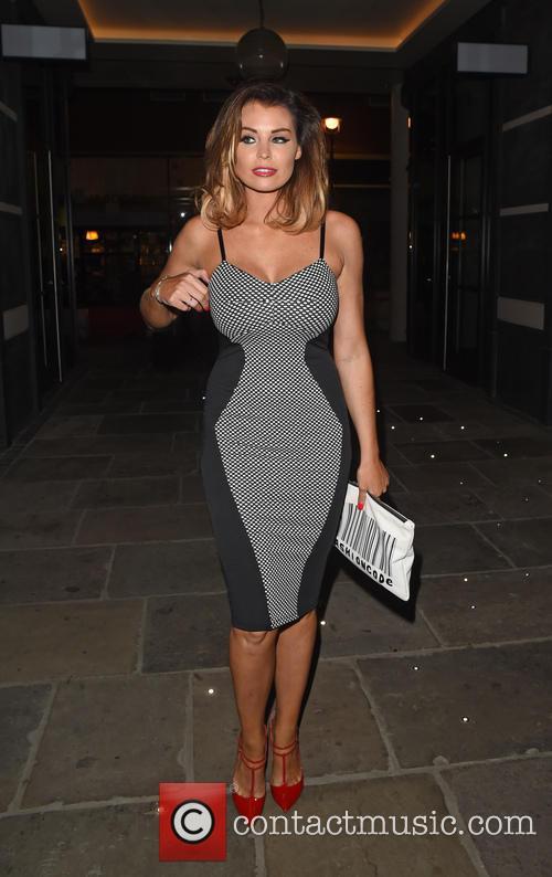 Jessica Wright Leaving Hamyard Hotel London