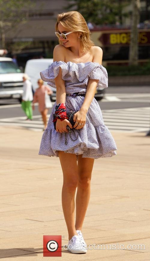 New York Fashion Week - Street Style