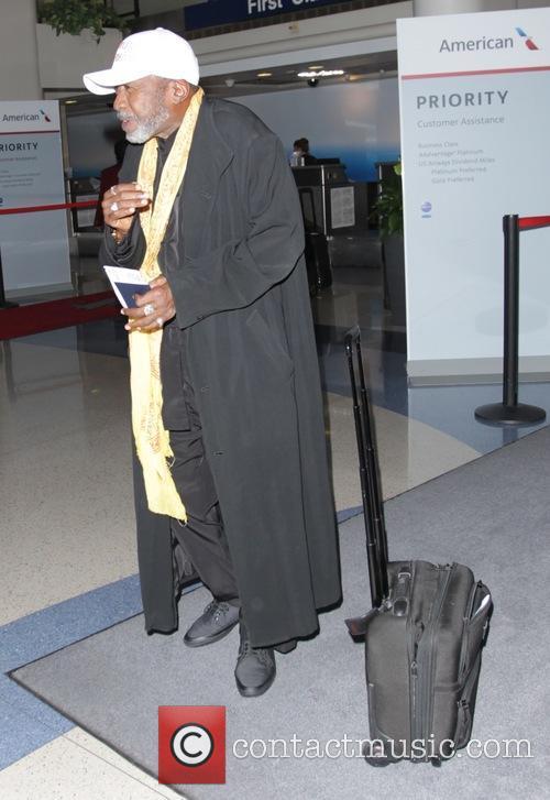 Ben Vereen at Los Angeles International (LAX) airport