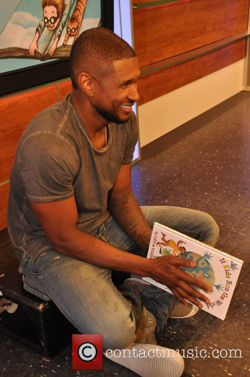 Usher teams up with Scholastic