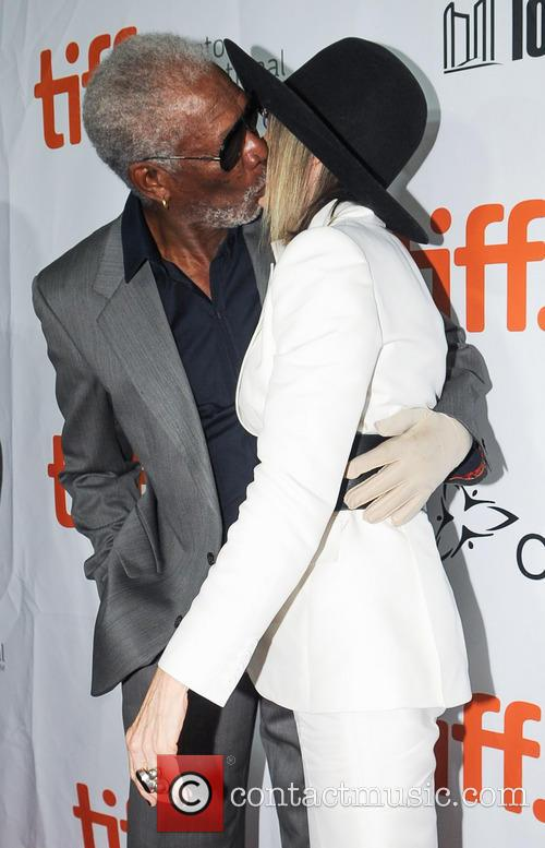 Diane Keaton and Morgan Freeman 1