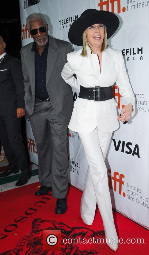 Diane Keaton and Morgan Freeman 7