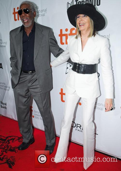 Diane Keaton and Morgan Freeman 10