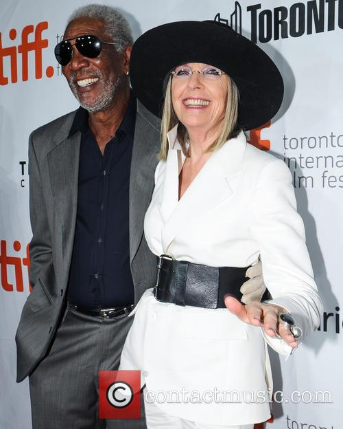 Diane Keaton and Morgan Freeman 11