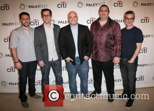 Scooter Braun, Nicholas Wootton, Nick Santora, Walter O'brien and Alex Kurtzman