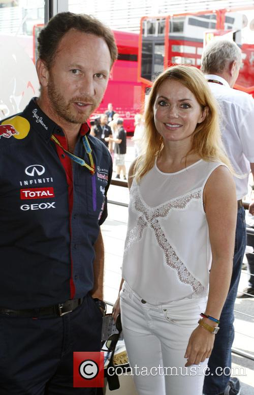 Geri Halliwell and Christian Horner