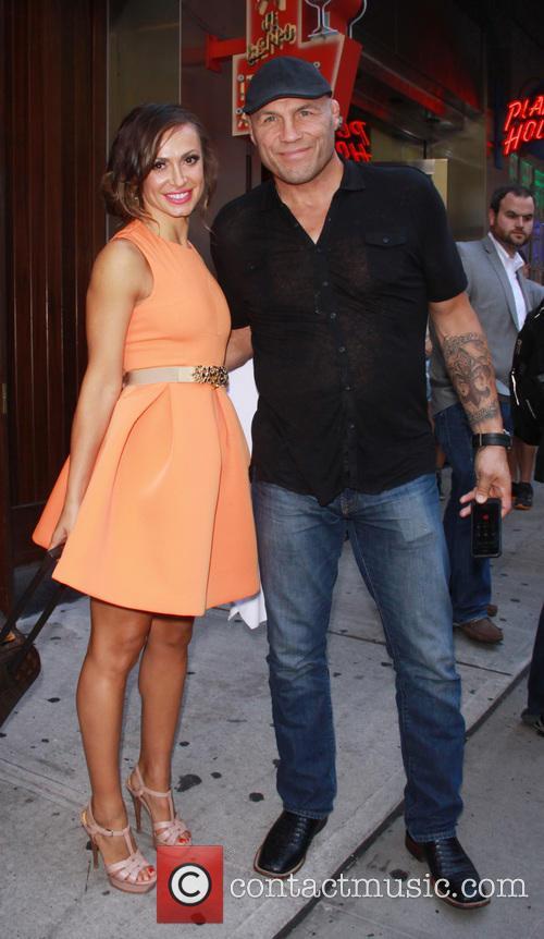 Randy Couture and Karina Smirnoff 2