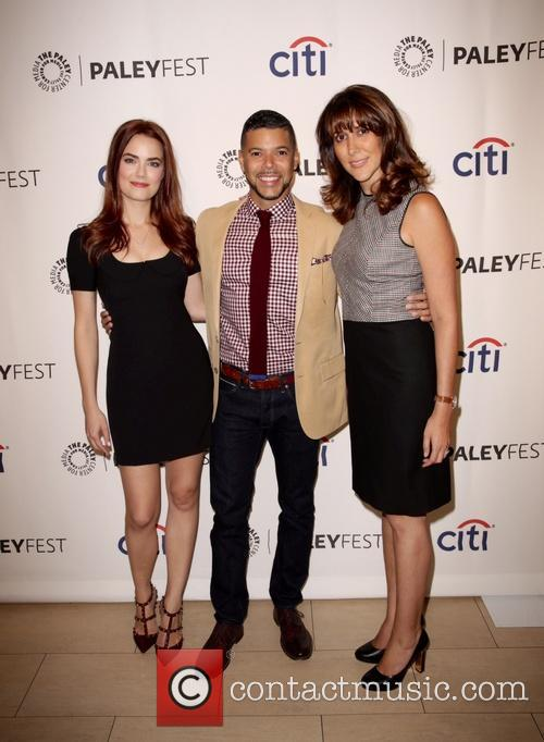 Rebecca Rittenhouse, Wilson Cruz and Rina Mimoun 3